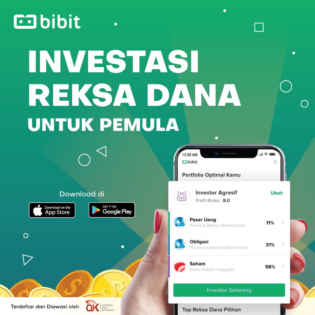Bibit - Investasi Reksadana Untuk Pemula